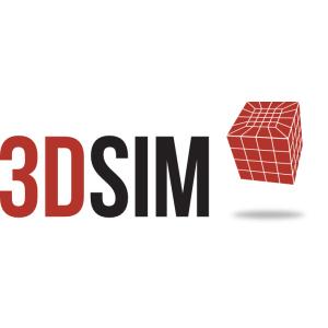 3DSIM 3D Printing Print Preview logo