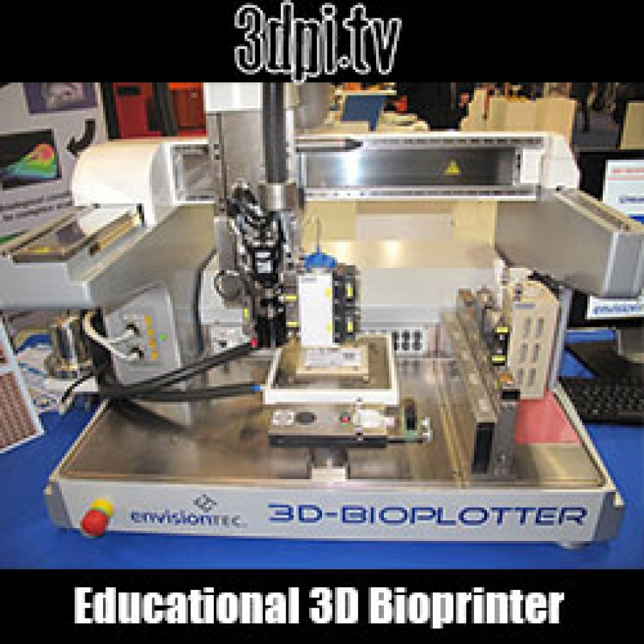 Video: EnvisionTEC Launches Educational 3D Bioprinter