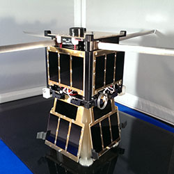 KySat 3d printing satellite