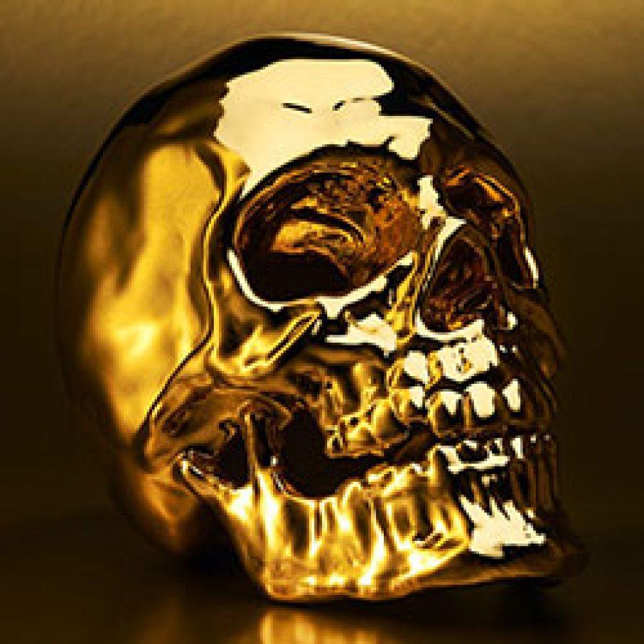 Powder 3d printing skull