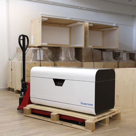 blueprinter 3D printer begins shipping