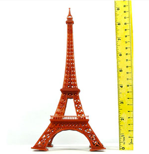 kudo3d titan1 dlp 3d printer eiffel tower