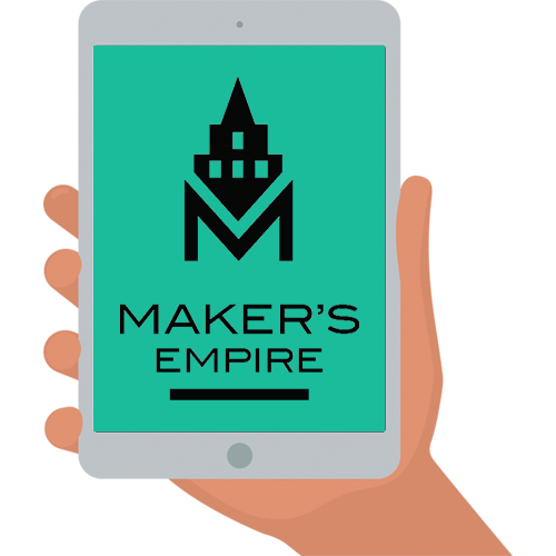 maker's empire 3D printing app logo