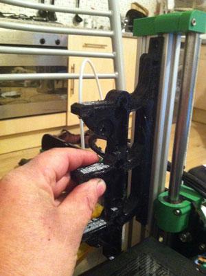 multimotor multimaterial 3D printing experiment