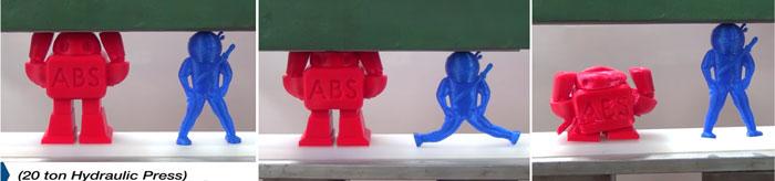 robot smoosh filament 3d printing