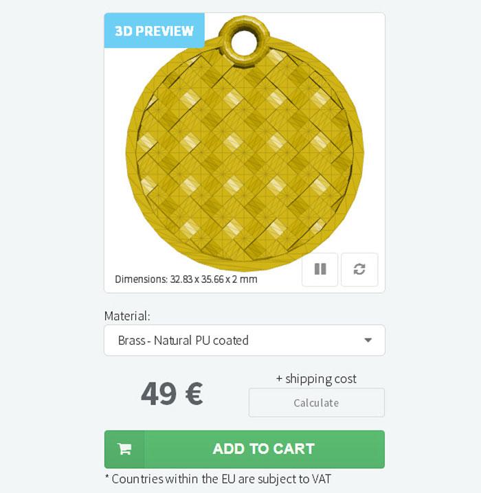sertae 3D printed celtic knot designer step 3