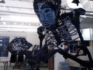 3Doodle 3d printing Plastic Man