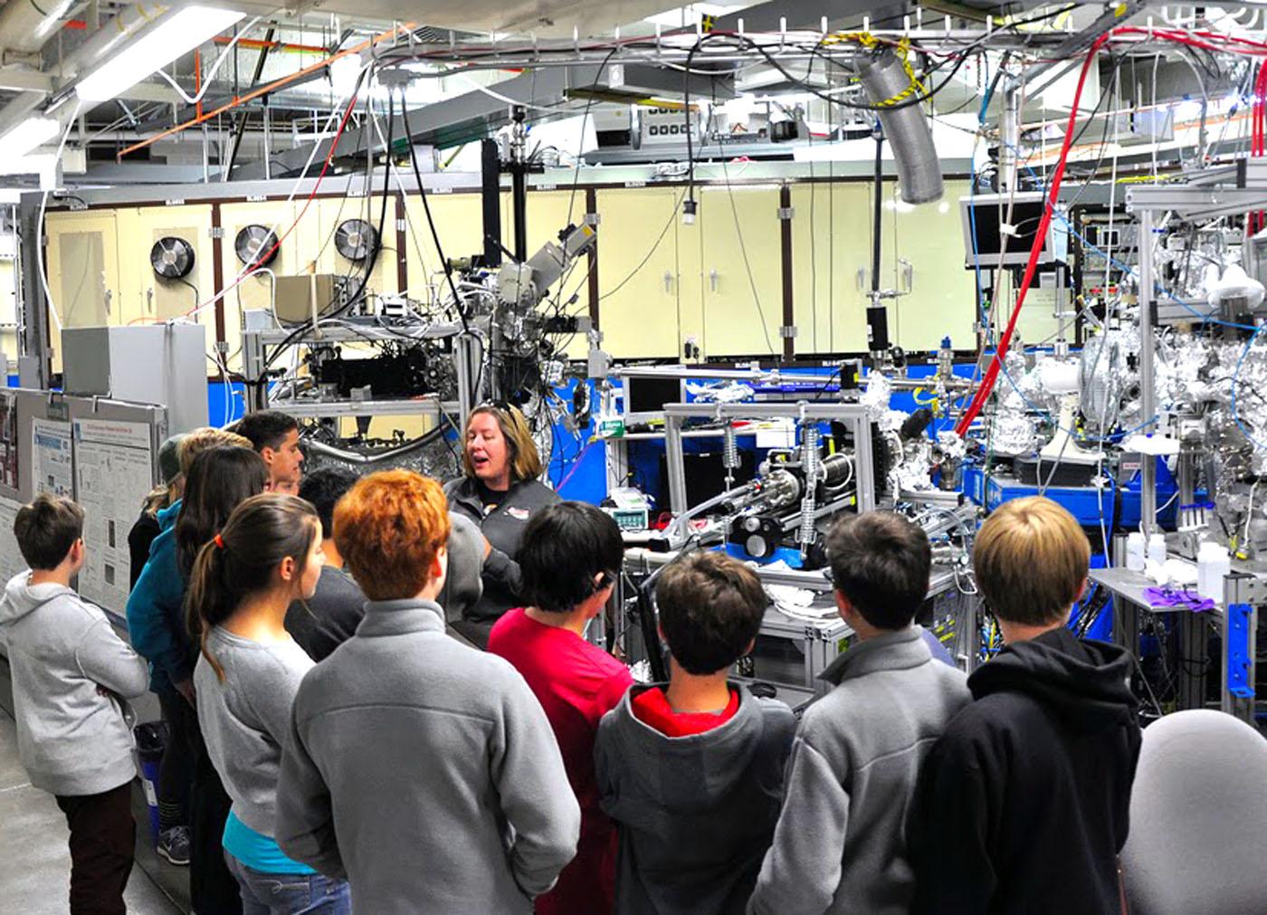 Black Pine Circle Maker Club at Lawrence Berkeley National Lab