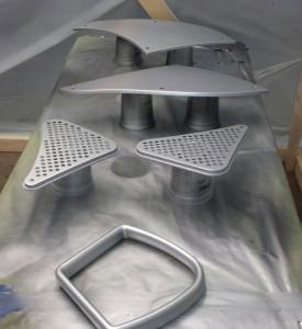 C-ideas Car 3D Printed Final Parts RAPID 2014