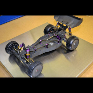 3D Printing A Remote Controlled Race Car in Carbon Fibre