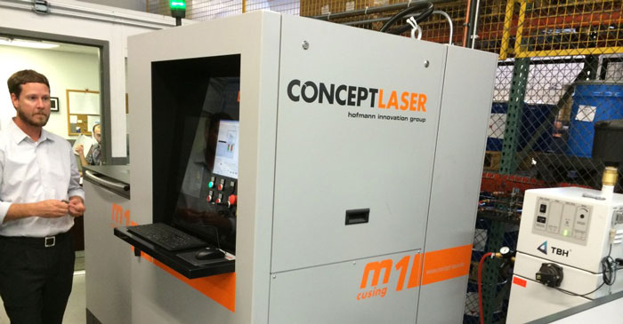 Concept Laser 3D Printing