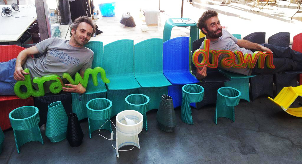 Drawn 3D Printed Furniture5