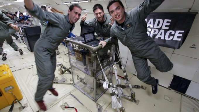 ISS Made in Space 3D Printer
