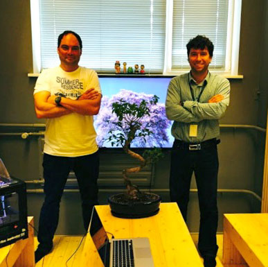 John Dogru Anton Vedeshin 3D Control Systems
