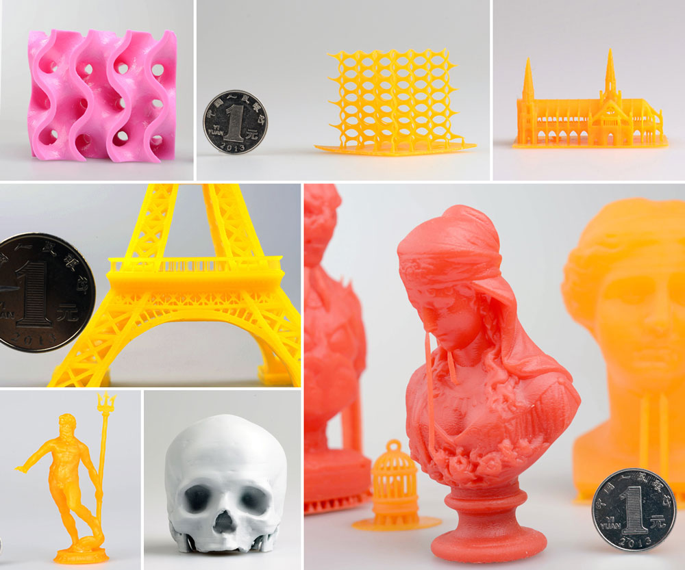MakeX M-One 3D Printing print examples