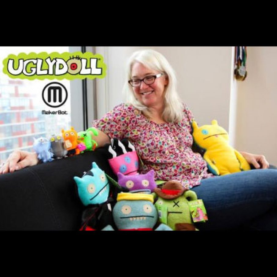 Makerbot Uglydoll 3D Printing
