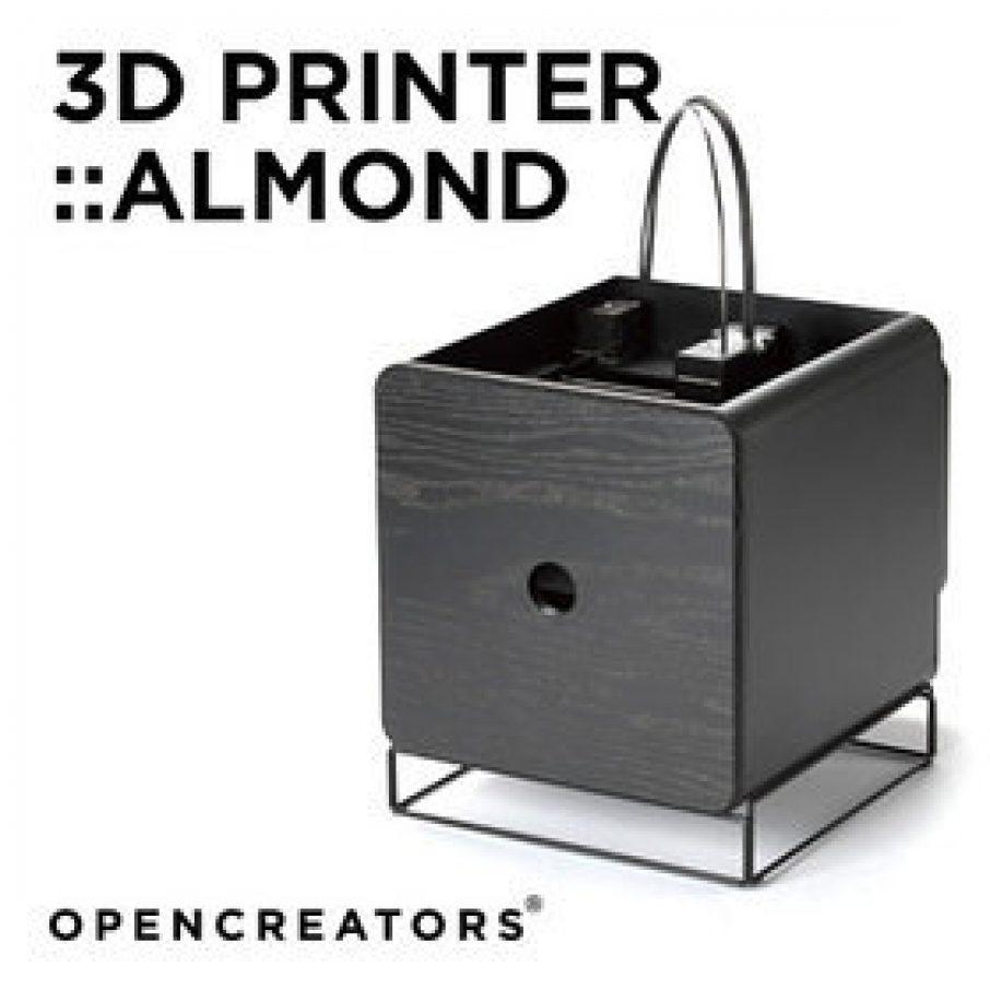 Opencreators almond 3d printer