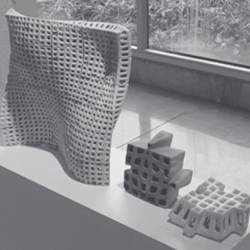 PolyBrick Ceramic 3D Printing Construction