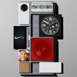 Project Ara with 3D printed modules feature