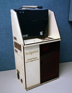 Sedgwick DLP 3D Printer