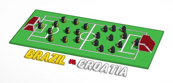 brazil vs croatia tinkercad 3d printing