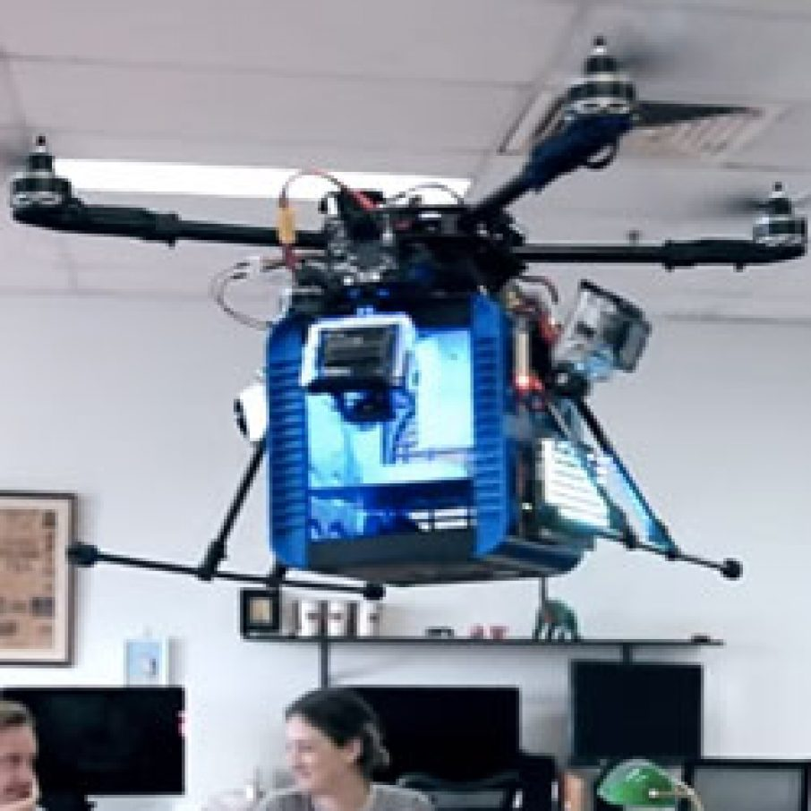 drone 3d printing