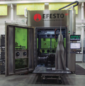 efesto 557 large format 3D metal printer