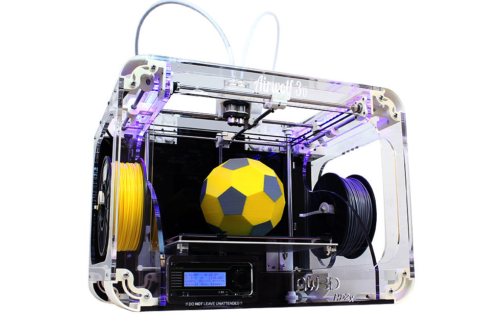 new airwolf 3d printer