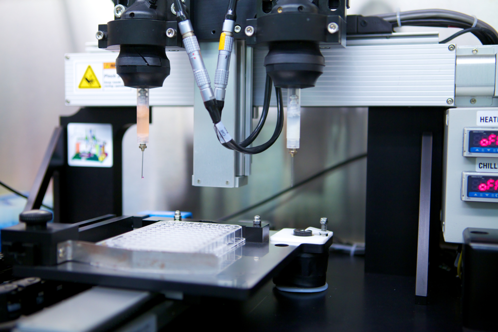 organovo 3d bioprinter