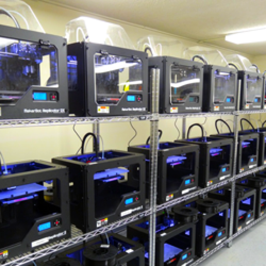 Robohand Enables One And Many With 3D Printer Farm