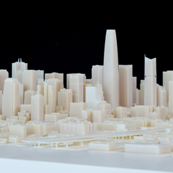 san francisco 3D printed