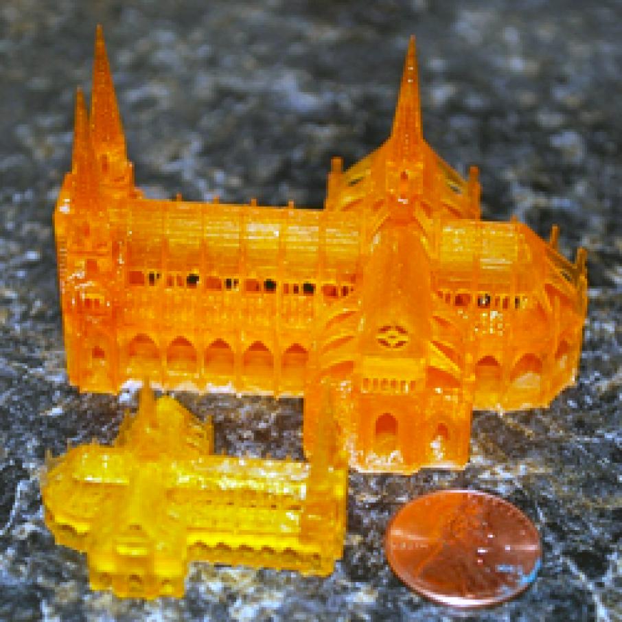 sedgwick DLP 3D printer cathedral print