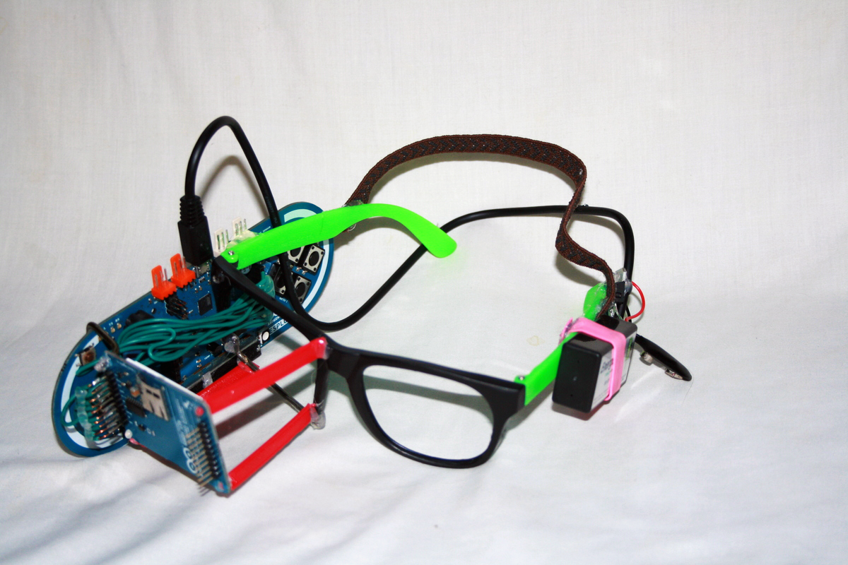 13-year-old Clay Haight makes DIY google glass with 3D printed frames