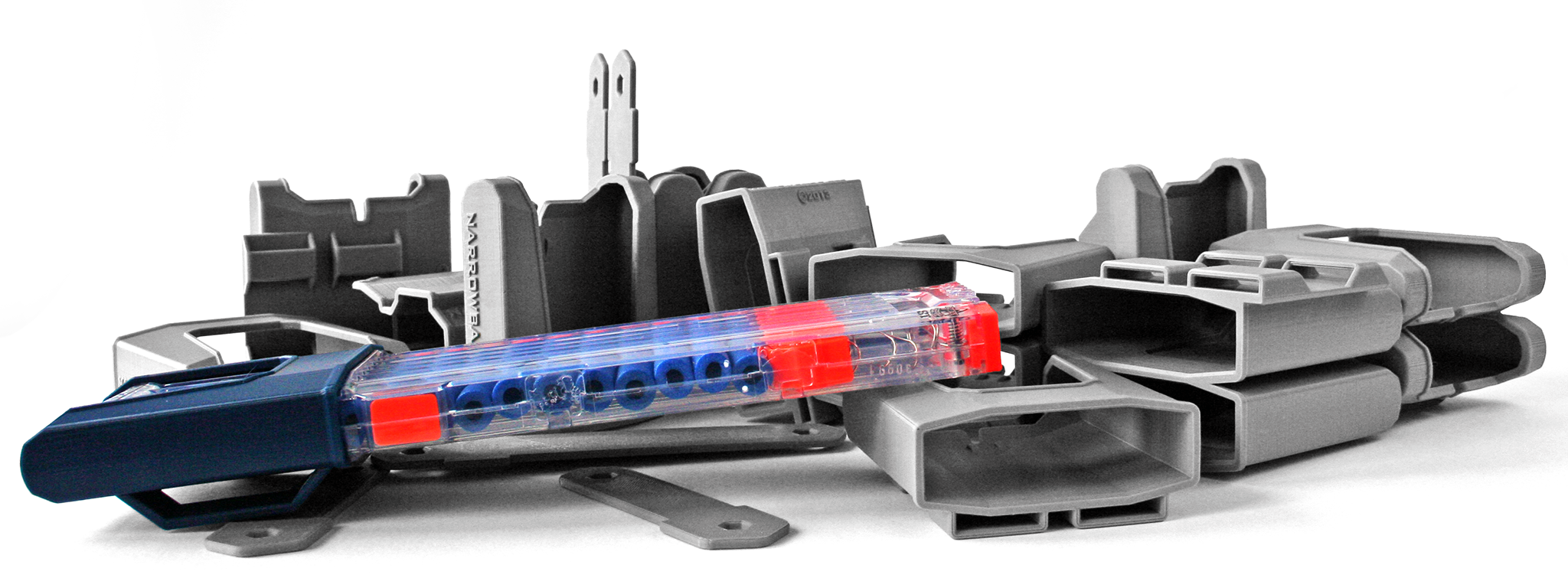 3D printed Nerf accessories from NarrowBase via 3D Printing Industry