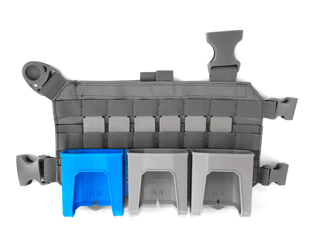 3D printed Nerf magazine holders from NarrowBase via 3D Printing Industry