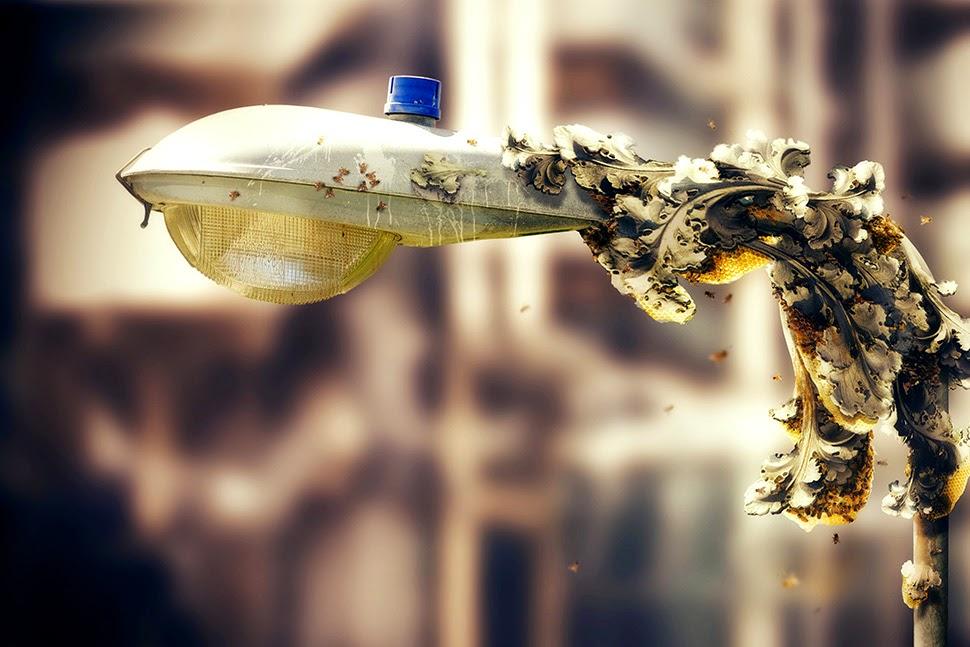 3d printing bee lamp