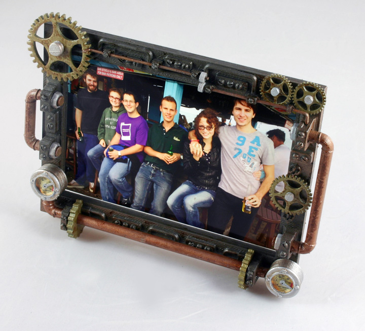3d Print Your Steampunk Picture Frame 3d Printing Industry