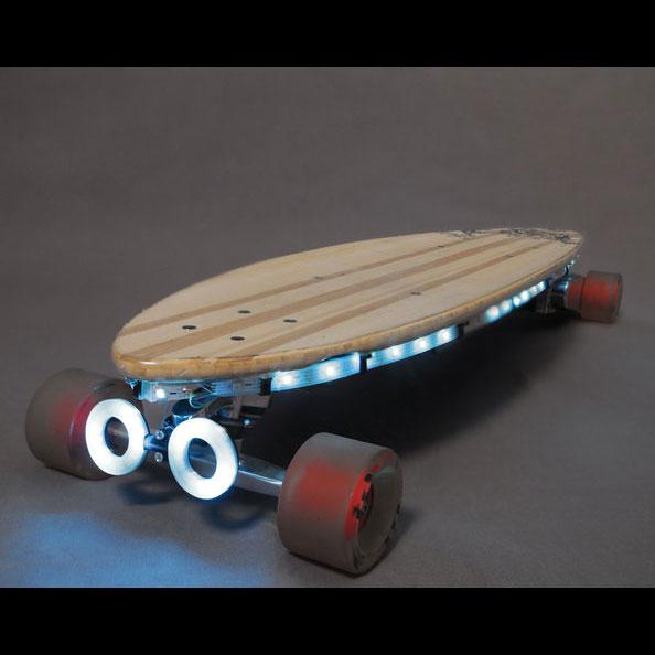Adafruit Skateboard 3d printing