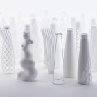 Italian Architect Reimagines Peroni's Nastro Azzurro Bottle Design with 3D Printing