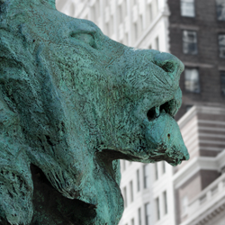Art Institute of Chicago Lion has been 3D scanned and 3D printed, photo via 3D Printing Industry