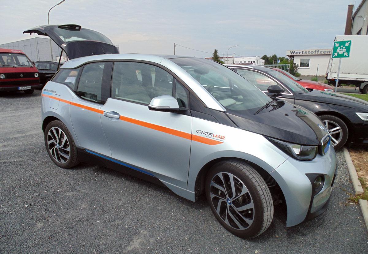 BMW concept laser 3d printing