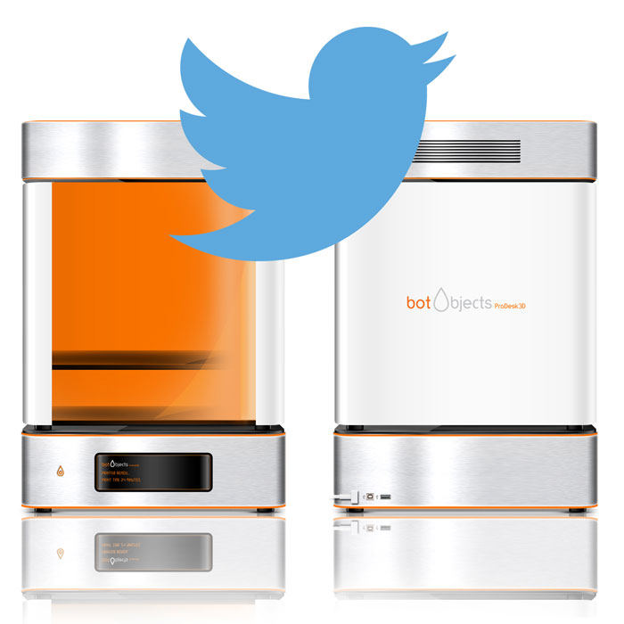 Botobjects 3D Printer Twitter