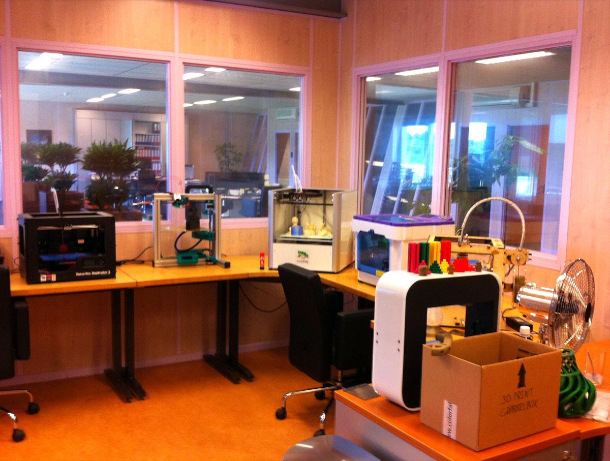 ColorFabb test 3d printers