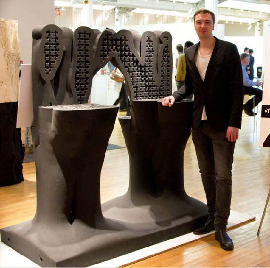 3D Printing Natural Column Project Daniel Büning