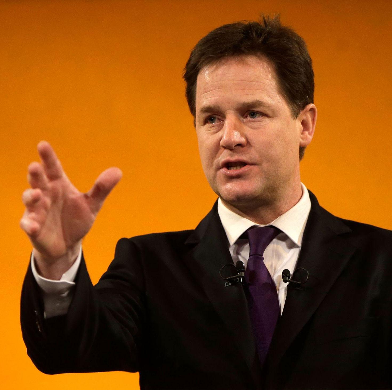 Deputy Prime Minister Nick Clegg 3d printing