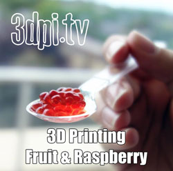 Dovetailed 3d printer fruit