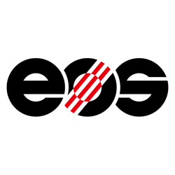 EOS industrial 3D printer manufacturer logo
