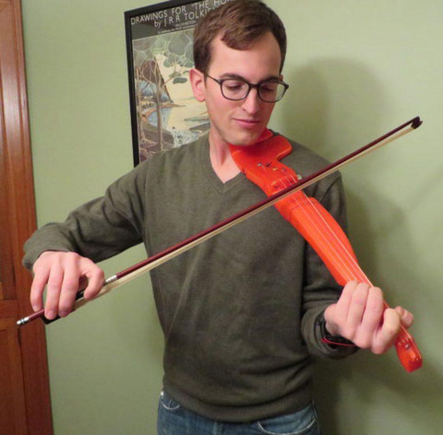 FFFiddle 3D Printing Violin