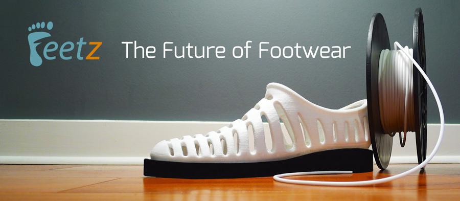 Feetz 3d printed shoes