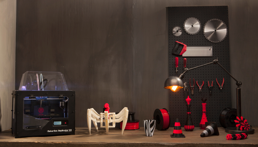 home depot carries makerbot 3d printers in stores   3d
